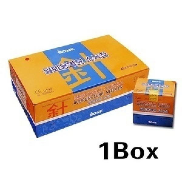 일회용침 원침 스프링침  - 1box