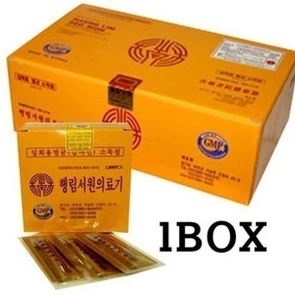일회용침/행림침/스프링침-1box(10000pcs)