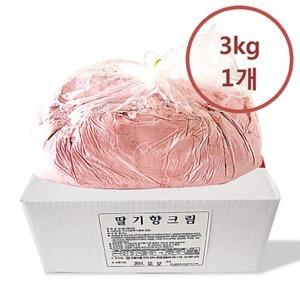 금강월드 와플크림 딸기 3kg
