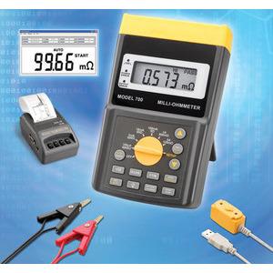 MILLI-OHMMETER / 저저항계/ PROVA-700 /옴/저항/테스터기/측정기/메타