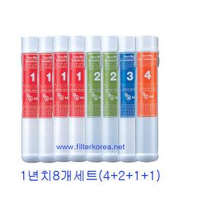 린나이SWP-1000SER정수기필터1년(4+2+1+1)8개
