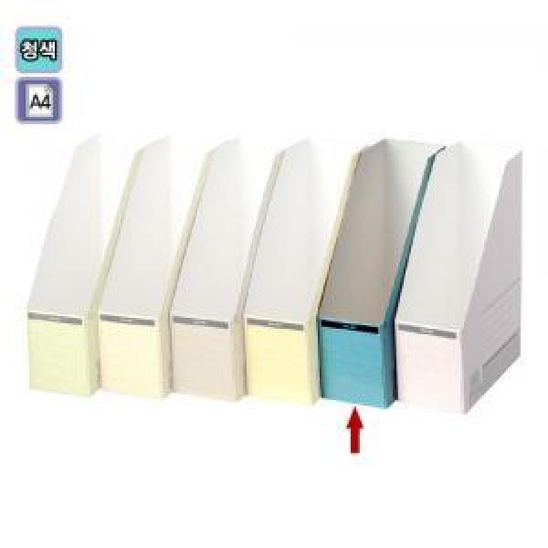 종이화일꽂이(5개팩/청색/OfficeDEPOT)