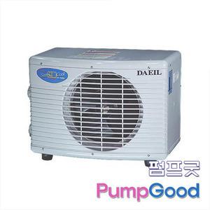 펌프굿]대일냉각기 DA- 1500B 단상(1.5마력)/산업용냉각기/냉각기/해수용냉각기/조절기포함