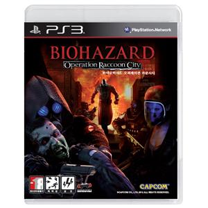 PS3 바이오하자드 오퍼레이션 라쿤시티 / 바이오 하자드