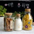 예쁜유리병 코르크마개 밀폐용기 콜크유리병 선물박스