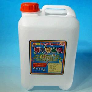 월성 20리터 큰방울용 비누방울 리필 대용량