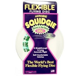 [에어로비 정품] 스퀴지디스크-야광(Squidgie disc-Glows)/플라잉디스크 원반 학교체육교재 프리스비/20cm