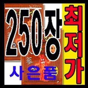 골드인삼 250장/홍삼/한방/파스아님패드임/글루홍삼
