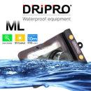 [DRiPRO 정품] 카시오 카메라 방수팩[ML] EX-S500/S600/S600D/S770/S880/ZR10/H5/H15/FH100/FC100/FC150