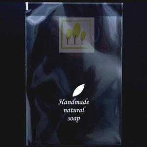 BBINU1077 비누 포장용 비닐(하트/나뭇잎)100장포장재료
