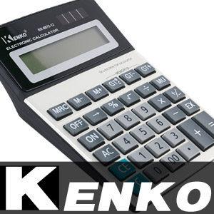 [켄코] 빅사이즈 와이드LCD 계산기/전자계산기/탁상계산기 휴대용계산기 가계부 공학용계산기