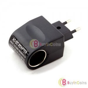 ������ �ð��� ���� ����ͺ�ȯ�� 110V-220V AC to 12V DC EU Car Power Adapter Converter