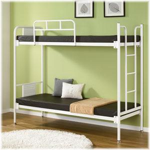 NOOMA 누마철제이층침대 기숙사철제이층침대 침대책상/책상침대 ...