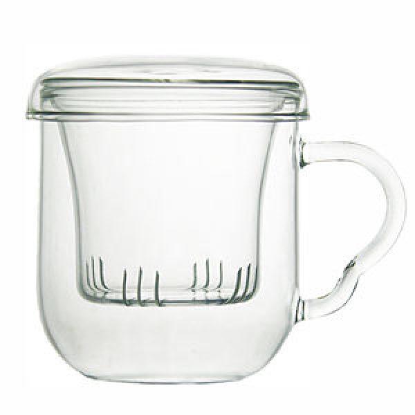 [라토스] 유리 필터머그컵(무지)/유리필터