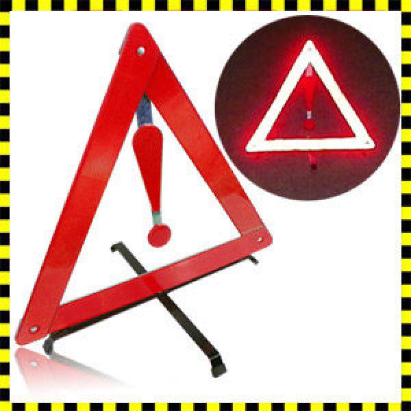 차량 안전삼각대  자동차 안전용품/차량용 접이식 삼각대/자동차용품/야광/비상등/경광등