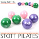 Stott Pilates Toning Balls Set 토닝볼 자세교정