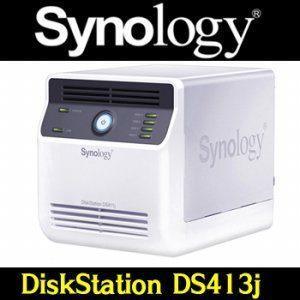 [산돌네트웍] DS413J(8TB)  4Bay(2TB x 4ea) 1.6GHz(ARM)  Synology공식판매점[Livingstone