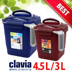 윈닥스 클라비아 음식물쓰레기통 3L 4.5L 토탈하우스