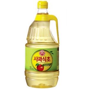 오뚜기  사과식초 1.8L 저렴하고 실용적인 대용량
