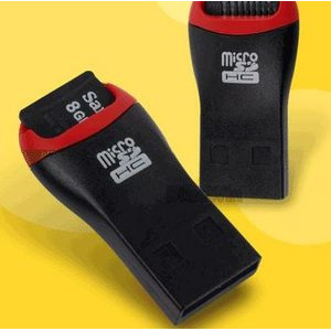 MicroSD-J USB 마이크로 SD/SDHC 전용 리더기