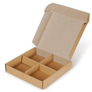 [선물상자/박스]그라프트일체4구 / 20 x20 4 5cm[높이] 손잡이가 있습니다./100개