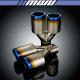 [마루모터]준비엘/Ti Dual Angle-Roll/JBL5T-D016/80x2파이/더블티타늄머플러커터(용접용)팁/휠/타이어