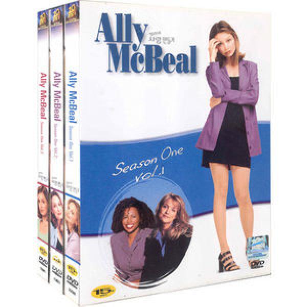나무   DVD  앨리의 사랑만들기 시즌 1  6disc - Ally Mcbeal Season One