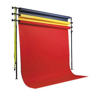3단 고정형 종이롤 체인 배경 세트 136cmX11M / 사진 촬영 상품 스튜디오 쇼핑몰 종이배경 배경지 모델