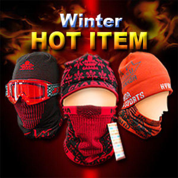 하후캐나다 겨울 멀티 넥워머 니트 비니 H 밴드 멀투건 창 모자 챙모자 바라클라바 마스크 두건 방한용품
