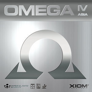 XIOM OMEGA4 ASIA (엑시옴 오메가4 아시아 )(탁구러버