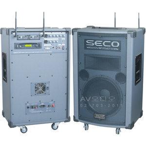 세코 SECO DWA-990CD/DVD 충전식/휴대용앰프/무선마이크/야외용 -빠른배송-