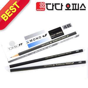 TOMBOW MONO J 연필 4B /2B/소묘연필/톰보우연필
