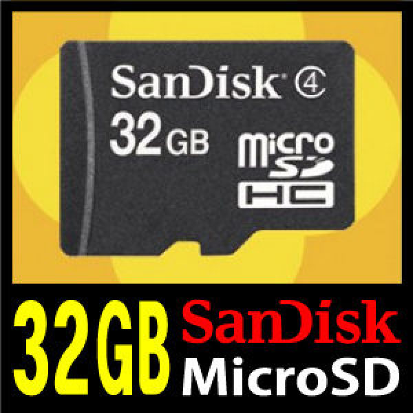 [무료배송] 삼성 갤럭시S2HDLTE/SHV-E120S 전용 MicroSDHC Class4 [32GB] 외장메모리카드 샌디스크 T-Flash