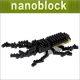 재미니아 나노블럭 사슴벌레 최소형 블럭 미니블럭 장난감 미니블록 입체퍼즐