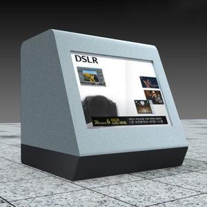 23인치 투명 LCD / 투명 LCD 쇼케이스 / 판매 / 실버