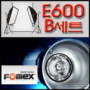 국산 스트로보 E600 B세트 E600 SS-B 배경지 스튜디오 라이트 조명세트 소프트박스 카메라 촬영 E600SSB