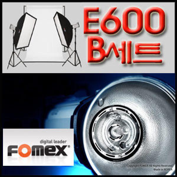 국산 스트로보 E600 B세트 E600 SS-B 배경지 스튜디오 라이트2 조명세트 소프트박스 카메라 촬영 E600SSB