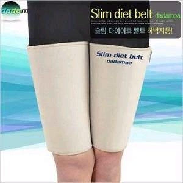 [슬림벨트(허벅지용2개입)단계별지퍼조절]슬림사우나/네오프랜/보정웨어/몸매관리/다이어트웨어/압박웨어