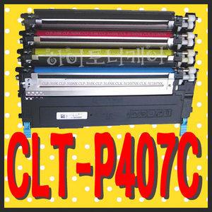 CLT-P407C (4색세트) CLP-320K/325K/325WK CLX-3180K/3185K/3185FN/3185FW/3185WK 삼성재생토너 폐토너반납