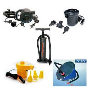 인텍스 에어펌프 수동 자동펌프/튜브/라달라