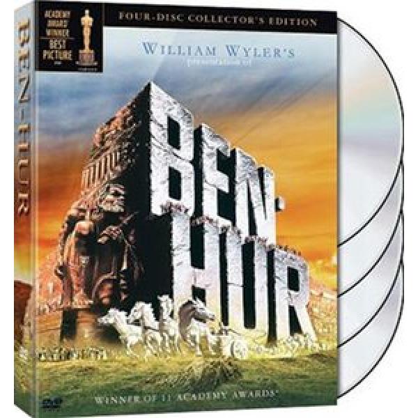 [중고품] 윌리엄 와일러 감독/벤허 (Ben Hur) S.E 프리미엄 한정판 DVD박스셋/고급디지팩 (4Disc)