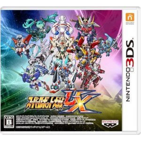 3DS  슈퍼 로봇 대전 UX  일본판 상태좋은중고