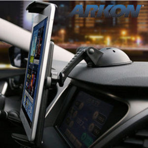 Arkon 뉴아이패드 미니 갤럭시탭 노트10.1 윈도우 넥서스 테블릿PC 차량용 거치대 대쉬보드 흡착식 카홀더