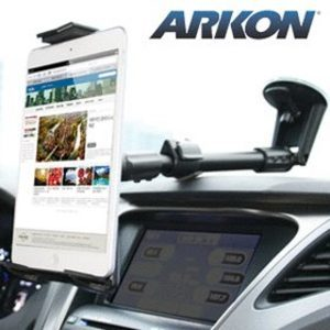 Arkon 뉴아이패드 미니 갤럭시탭7 8 노트10.1 윈도우 넥서스 테블릿PC 차량용 거치대  흡착식 카홀더