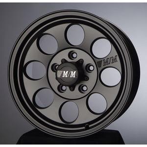 [마루모터]슈거레이 머드락 M/M 0810/알미늄휠/세미매트블랙/16인치6홀139.7/코란도/테라칸/갤로퍼/렉스턴