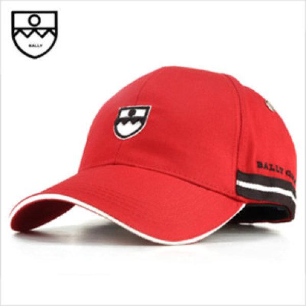 발리 레드컬러 블랙앤화이트 모자 CAP BALLY