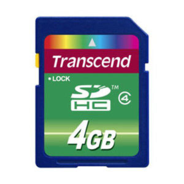 당일발송. 트렌센드 SDHC Class4 4GB