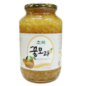 (주)초록원 꿀모과차 1Kg 12개