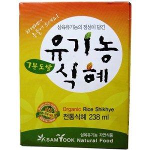 삼육유기농 7분도쌀 유기농식혜 (238ml 24개) 3박스