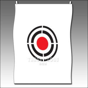 골프타겟존 골프타켓 무소음과녁타겟[대]/바탕흰색/140cmx180cm
